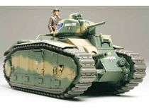 Maquette char d'assaut : Char Français B1bis Motorisé - 1/35 - Tamiya 30058