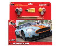 Maquettes voiture de sport : Starter Set Aston Martin DBR9 - 1:32 - Airfix 50110