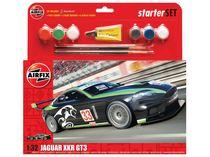 Maquettes voiture de sport : Starter Set Jaguar XKRGT - 1:32 - Airfix 55306