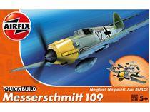 Quick Build - Maquette avion militaire : Messerschmitt Bf109e - Airfix J6001
