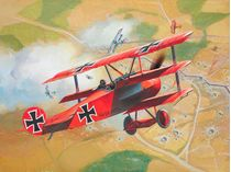 Maquette d'avion : Fokker Dr. 1 Triplan - Revell 04116