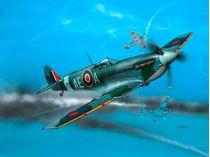 Maquette d'avion : Chasseur anglais Spitfire Mk.V - Revell 04164