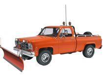 Maquette de voiture de collection : Gmc Pickup avec pelle à neige - 1/24 - Revell 17222