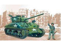 Maquette militaire : M4 A1 Sherman - 1:35 - Italeri 00225
