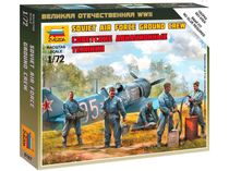 Figurines militaires : Mécaniciens Aviation Soviétique 2e GM - 1/72 - Zvezda 6187