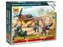 Figurines militaires : Mécaniciens Luftwaffe 2e GM - 1/72 - Zvezda 6188