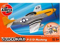 Quick Build - Maquette avion militaire : Mustang P-51D - Airfix J6016