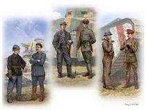 Set de figurines de Tankistes 1:35 - Masterbox 35134