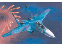 Chasseur Russe SUKHOI SU-27UB Flanker C
