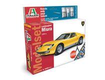 Maquette voiture : Lamborghini Muira - MODEL SET - 1:72 - Italeri 72002