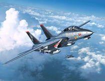 Maquette avion militaire : Model set Grumman F-14D Super Tomcat - 1:72 - Revell 63960