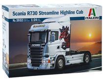 Maquette camion : Scania R730 Streamine ‐ Highline cab - 1:24 - Italeri 03932