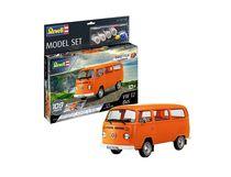 Maquette voiture : Model set Easy-Click Vw T2 Bus - 1:24 - Revell 67667