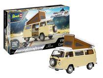 Maquette voiture : Model Set Easy-Click Vw T2 Camper 1:24 - Revell 67676