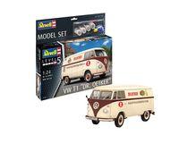 Maquette voiture : Model set Volkswagen T1 Dr. Oetker - 1:24 - Revell 67677