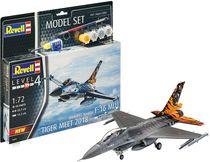 Boîte maquette militaire : Model Set F-16 Mlu 31 Sqn. Klein - 1:72 - Revell 63860