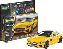 Maquette voiture de sport à monter et à peindre : Model set Mercedes AMG GT - 1/24 - Revell 67028