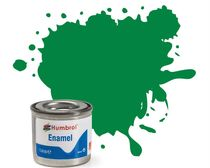 Peinture maquette enamel - Humbrol 2 - Vert Emeraude Brillant - Humbrol AA0028
