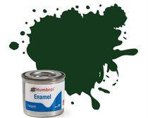 Peinture maquette enamel - Humbrol 3 - Vert Brunswick Brillant - Humbrol AA0031