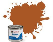 Peinture maquette enamel - Humbrol 9 - Marron Clair Brillant - Humbrol AA0103