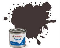 Peinture maquette enamel - Humbrol 173 - Marron Ballast Mat - Humbrol AA0173