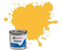 Peinture maquette enamel - Humbrol 24 - Jaune Avion Ecole Mat - Humbrol AA0268