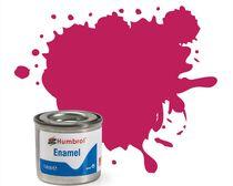 Peinture maquette enamel - Humbrol 51 - Rouge Couchant Métal - Humbrol AA0552
