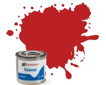 Peinture maquette enamel - Humbrol 60 - Ecarlate Mat - Humbrol AA0655