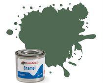Peinture maquette enamel - Humbrol 76 - Vert Uniforme Mat - Humbrol AA0847