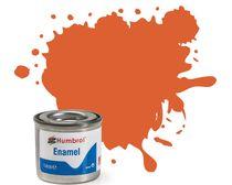 Peinture maquette enamel - Humbrol 82 - Orange de Garniture Mat - Humbrol AA0905
