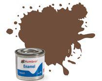 Peinture maquette enamel - Humbrol 98 - Chocolat Mat - Humbrol AA1081