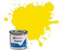 Peinture maquette enamel - Humbrol 99 - Jaune Citron Mat - Humbrol AA1095