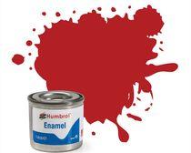 Peinture maquette enamel - Humbrol 153 - Rouge Insigne Mat - Humbrol AA1660
