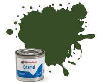 Peinture maquette enamel - Humbrol 242 - RLM71 Vert Foncé Mat - Humbrol AA2242