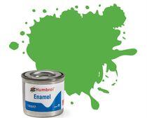 Peinture maquette enamel - Humbrol 208 - Vert Signal Fluorescent Brillant - Humbrol AA7081