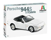 Maquette voiture : Porsche 944 S Cabriolet - 1/24 - Italeri 3646 03646