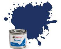Peinture maquette enamel - Humbrol 15 50 ML - Bleu Nuit Brillant - Humbrol AQ0174