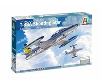 Maquette avion militaire : T-33A Shooting Star - 1:72 - Italeri 01444 1444 - france-maquette.fr