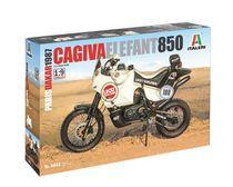 Maquette moto : Cagiva Elefant 850 Paris-Dakar 1987 - 1/48 - Italeri 4643 04643