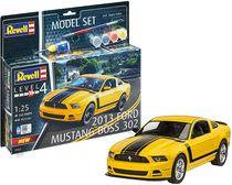 Boîte maquette voiture : Model Set 2013 Ford Mustang Boss - 1:25 - Revell 67652