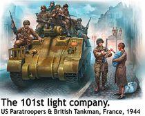 Figurines militaires : Armée Allemande - Front de l'Est 1941 - Masterbox 35151