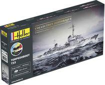Maquette militaire : Starter Kit Torpedoboot T23 - 1:400 - Heller 57011