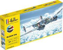 Maquette d'avion militaire : Bloch 174 A3 - 1/72 - Heller 56312