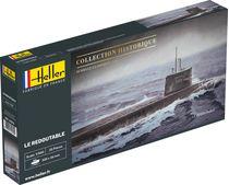 Maquette sous-marin militaire : Le Redoutable - Heller 81075