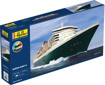 Maquette bateau : Starter Kit Queen Mary 2 - 1:600 - Heller 56626