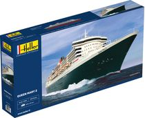 Maquette bateau : Queen Mary 2 - 1:600 - Heller 80626