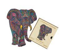 Puzzle en bois : Éléphant impérial - Créatif Puzzle