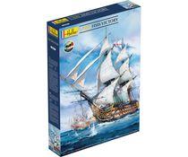 Maquette voilier : Starter Kit HMS Victory - 1:100 - Heller 58897