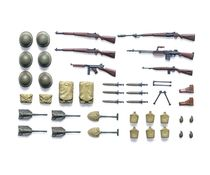 maqquette Accessoires militaires : Equipement d'infanterie US  - 1/35 - Tamiya 35206