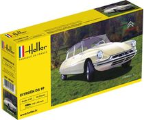 Maquette voiture de collection : Citroën DS 19 1:43 - Heller 80162